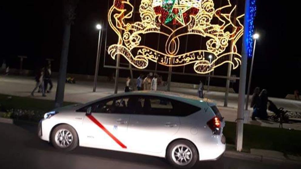 El taxi madrileño de Marruecos