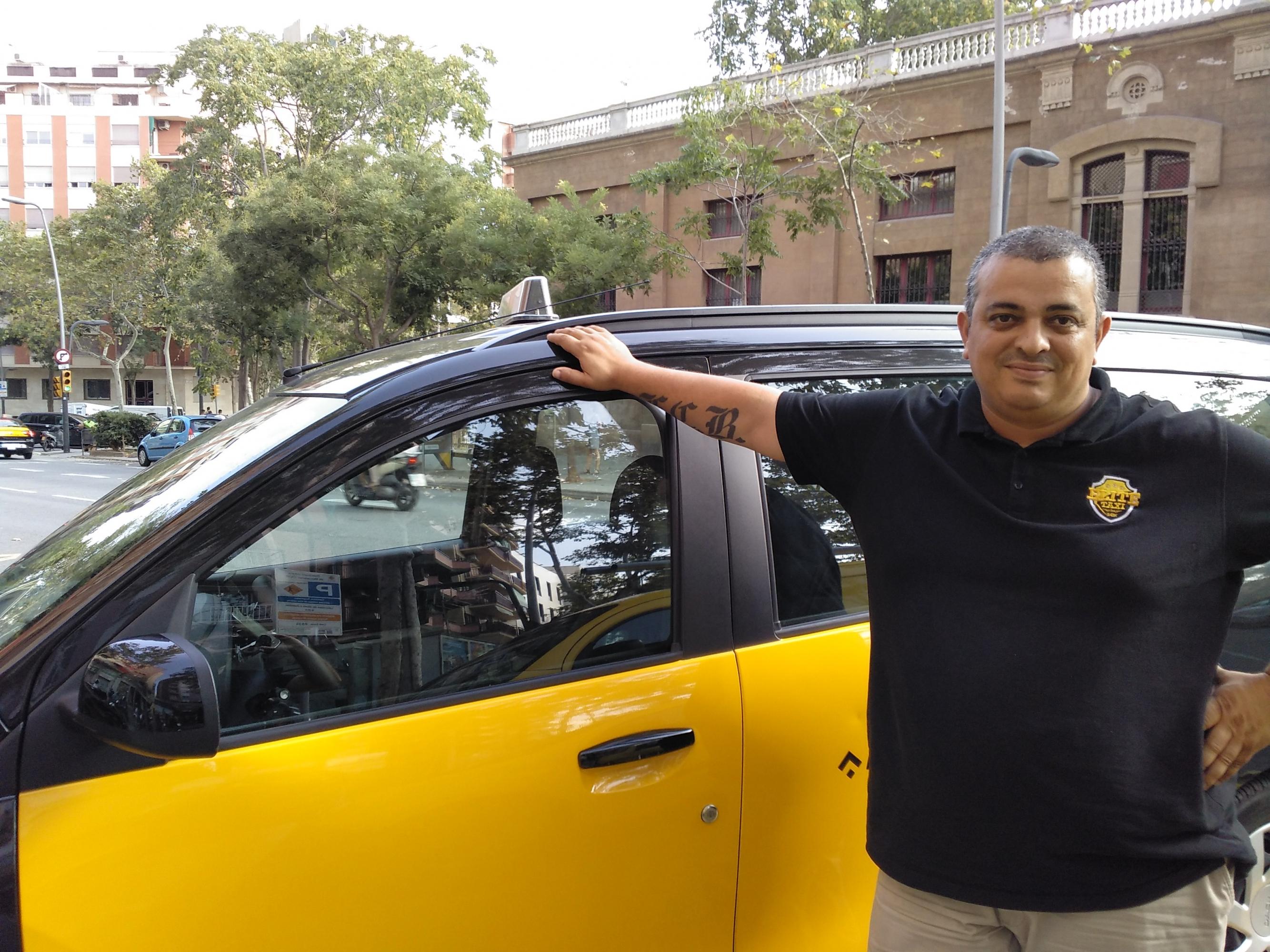 Entrevista al portavoz del sindicato Élite Taxi: Alberto 'Tito ...