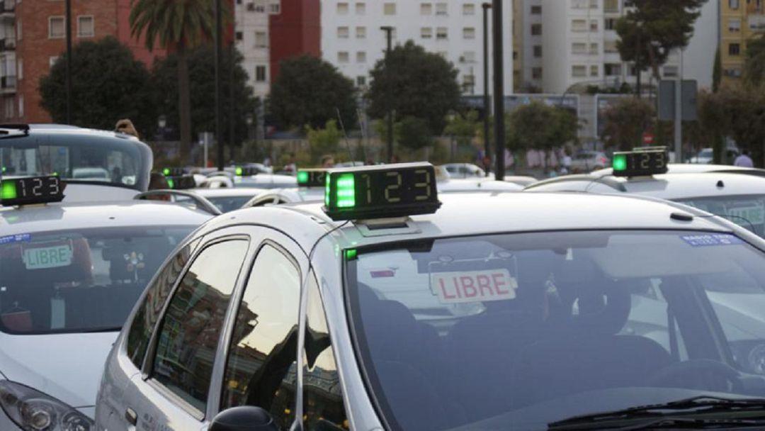 Taxis en València